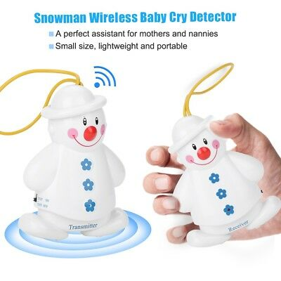 Baby Care Wireless Transmitter Infant Alarm Sleep Cry Alarm Monitor Detector 3V
