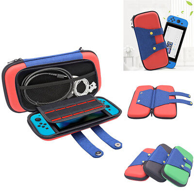 Hard Carrying Case Carbon Shell Portable Pouch Travel Bag For Nintendo Switch