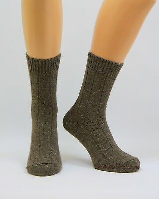 Mens Very Warm Thermal Thick Heavy duty Camel Wool Boot Socks | Hiking Hunting