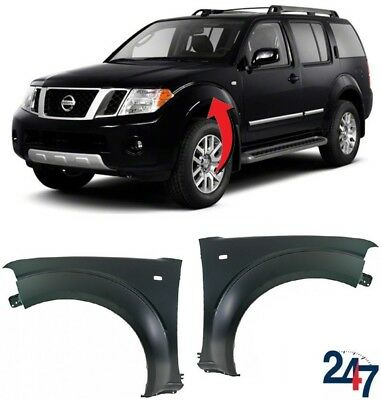 New Nissan Pathfinder 05-13 Front Wing Fender With Flasher Hole Left Right Pair