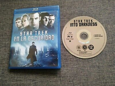 BLURAY STAR TREK EN LA OSCURIDAD - J.J. Abrams - Cumberbatch - Simon pegg