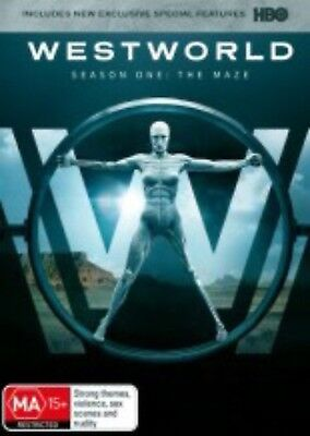 WESTWORLD-Season 1:The Maze-Region 4-New AND Sealed-3 DVD Set-TV Series