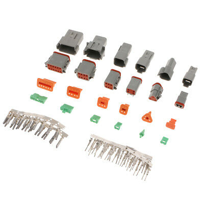 Quality 1.6mm Mini Connector Kits 2/3/4/6/8/12 Way Motorcycle Car Auto
