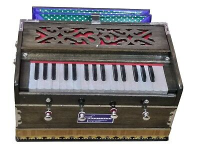HARMONIUM~2¾ OCTAVES~DOUBLE REEDS~440Hz~32 KEYS~MEDITATION~YOGA~KIRTAN~BHAJAN~OM