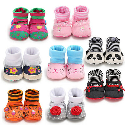 Toddler Newborn Baby Kid Boy Soft Sole Toddler Shoes Socks Shoes Autumn Chic