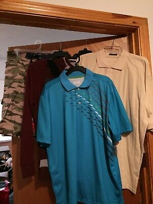 Brand New Lot Of 5 Men's Size Large Clothing