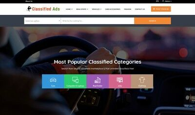Premium Classified Ads Website