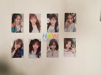 Fromis_9 Special (Broadcast, Fanmeeting, or Autographed) Photocard (Updated 3.7)
