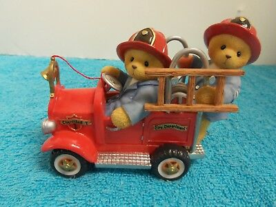 Cherished Teddies Dustin & Austin Hold on for the Ride of Your Life