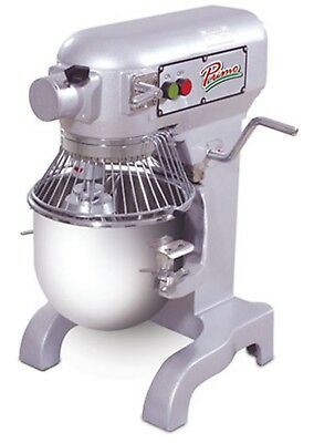 Primo PM-10 Planetary Meat Mixer 10 qt. Bench Model Gear Driven Transmission
