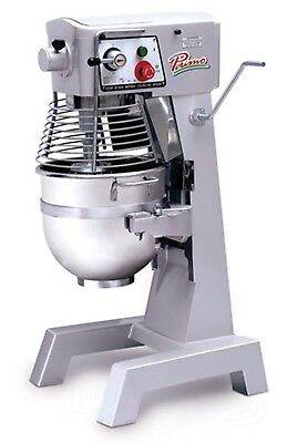 Primo PM-30 Planetary Meat Mixer 30 qt. Capacity 3 Speed Gear Driven