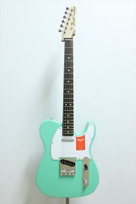 Fender MIJ Traditional 70s Tele Ash Maple Surf Green Fast Shipping Japan