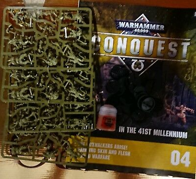 warhammer 40,000 Conquest Issue - 4, 24x miniatures, 1-paint