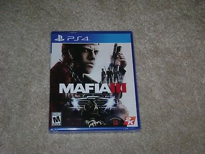 Mafia Iii....ps4....****sealed****brand New****!!!!!