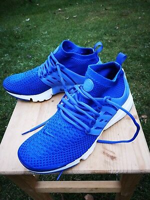 huge selection of c7209 58569 Nike Air Presto Flyknit Ultra Mens Trainers Blue Shoes RRP £130 ~ SIZE UK  7.5