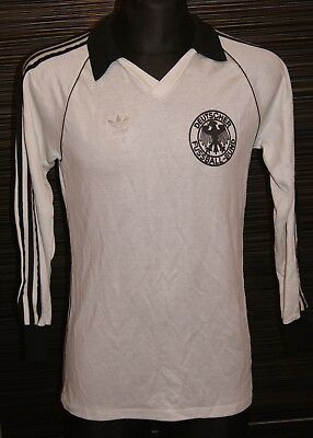 Long Sleeves L/S Germany Home football shirt 1980/1982 Size S
