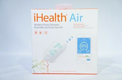 iHealth PO3 Air Wireless Fingertip Pulse Oximeter with Plethysmograph