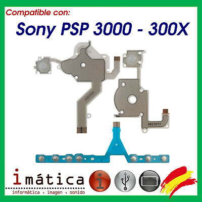 Cable Flex Psp 3000 Ribbon 3 Botones Button Volumen Select Start 3001 3004