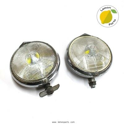 Set of 2 fog lights for Ferrari 250 SWB / California / MM & more