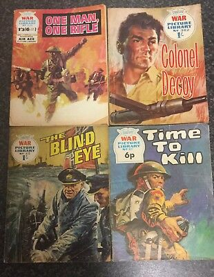 WAR PICTURE LIBRARY COMICS #827#362#639( 6 NEW PENCE )#475 Read Details