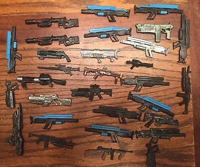 Marvel Legends 30 Large Machine Guns 6 inch Lot 1 Accessories Dc Universe.