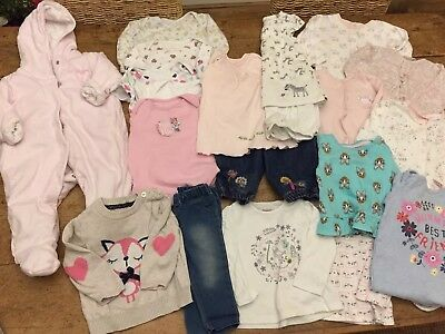 Baby Girl 3-6 Month Clothes Bundle (1)