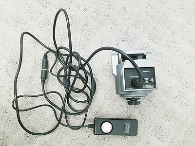 Bescor MP-101 MP101 Motorized Pan Head Camera Stabilizer + Extension Cable