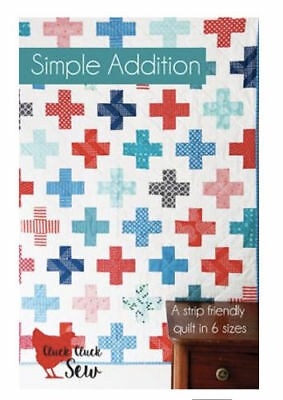 Quilt Pattern HOOPLA Moda CLUCK CLUCK SEW Jelly Roll Friendly 4 different sizes