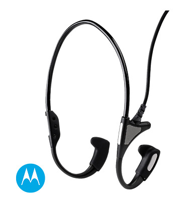 MOTOROLA - RMN5114A Temple Transducer Headset with In-line Push-to-talk Switch