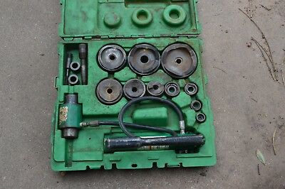 "Greenlee 7310Sb Hydraulic Driver Punch Set 1/2"" X 4"" Knock Out"