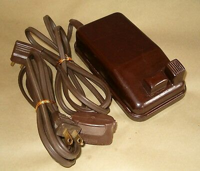 Singer SERVICED 301 401a Sewing Machine Foot Controller Pedal & Power Cord