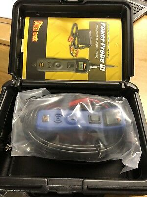 Power Probe 3 III PP319FTCRED Red Powerprobe Kit w/Voltmeter