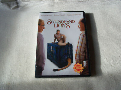 Secondhand Lions (DVD, 2018, Brand New)