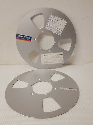 Ampex Reel To Reel Tape Metal Tape Reel Nab Wall Art Decoration (just plates)