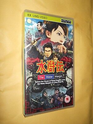 The Water Margin 3 Episodes From The 1970's Series Umd For Sony Psp New And Se