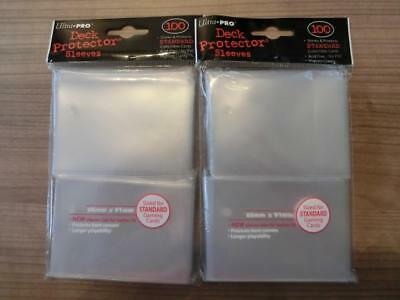2x Ultra Pro 66x91mm - Deck Protector Sleeves (je 100)