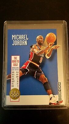 a6530f99b2a 1992 SKYBOX OLYMPIC Team - Michael Jordan #USA11 - Nice Card ...