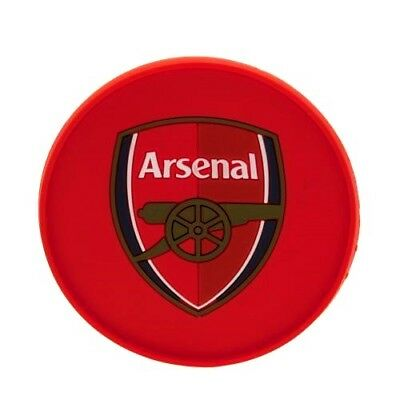 Arsenal FC Official Crested Silicone Coaster The Gunners Present Gift