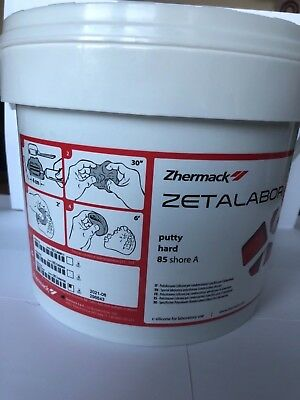 Dental lab putty Zetalabor 5 kg + 2 indurent gel 60 ml Zhermack