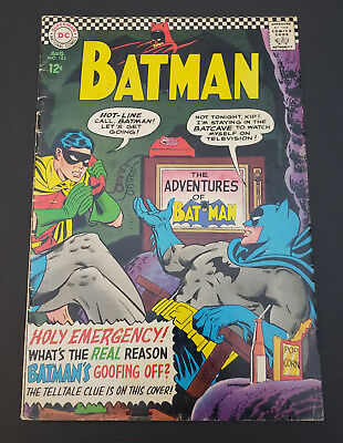 Batman #183 (1966, DC) 2nd Appearance of Poison Ivy