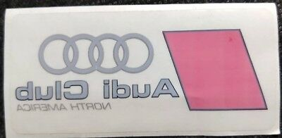 2000s AUDI Club North America Decal Sticker Racing Swag