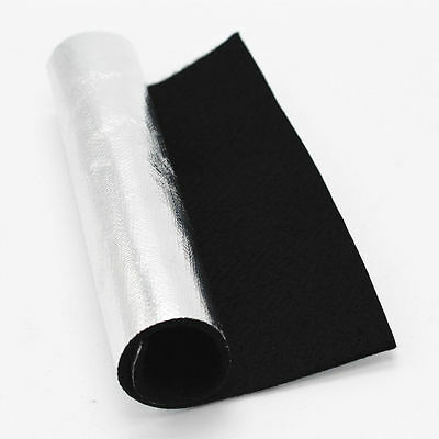 Carbon Aluminized Fiber Welding Blanket Thermo Cloth Heat shield High Protection