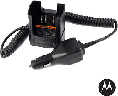 MOTOROLA - NNTN8525A - MotoTRBO Vehicle Travel Charger - 12 VDC