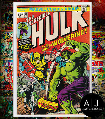 The Incredible Hulk #181 (Marvel) VG+! HIGH RES SCANS! NO MVS!
