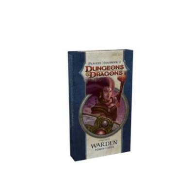 WOTC D&D Power Cards Player's Handbook 2 - Warden Box SW