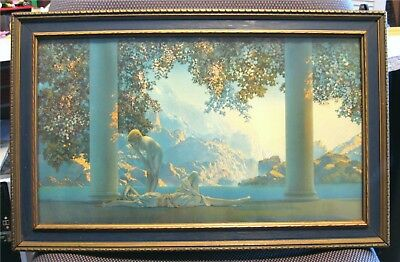"""MAXFIELD PARRISH """"DAYBREAK"""" FRAMED PRINT by THE HOUSE OF ART N.Y."""