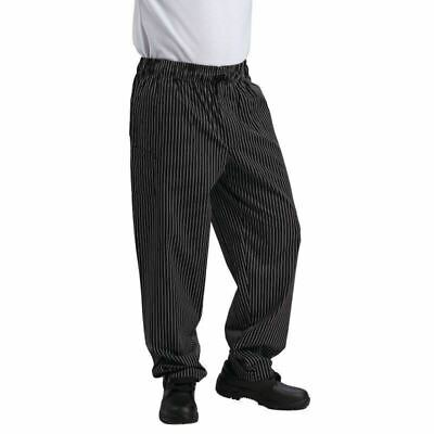 Le Chef Fine Pinstripe Chefs Trousers | Pants Bottoms Uniform Unisex