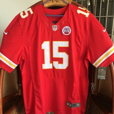 New Men's Stitched Patrick Mahomes Red #15 Elite Football Jersey Chiefs 40M-XXXL