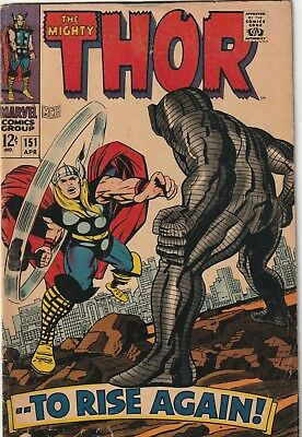 Mighty Thor #151 Silver Age Reading Copy Marvel