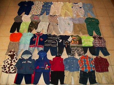 Baby Boys Clothes/Outfits Lot of 50 Size 6-9/6-12 Months winter